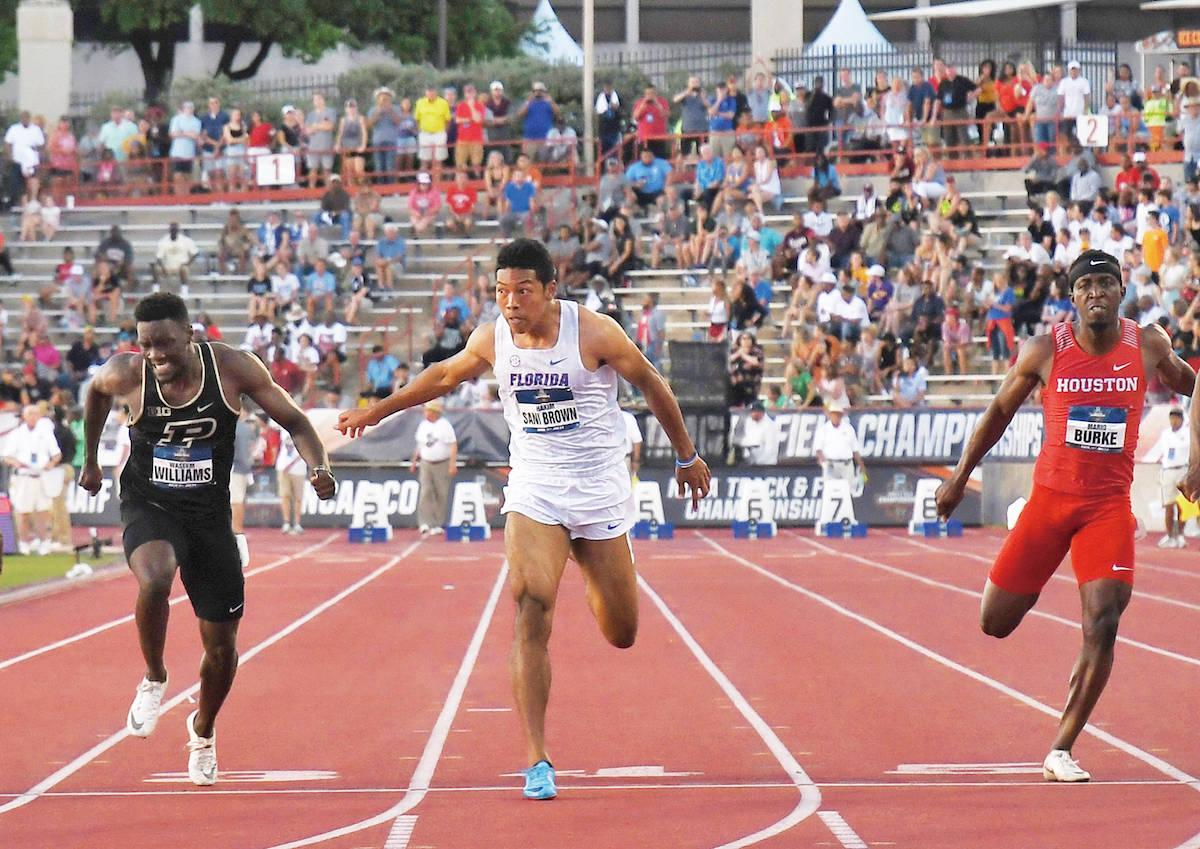 【陸上男子100M】サニブラウン選手が日本最速9秒97