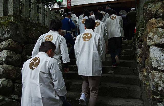 """大野地域の歴史ある神社""""大原神社""""。毎年4月29日に行われる 大原神社例大祭。"""