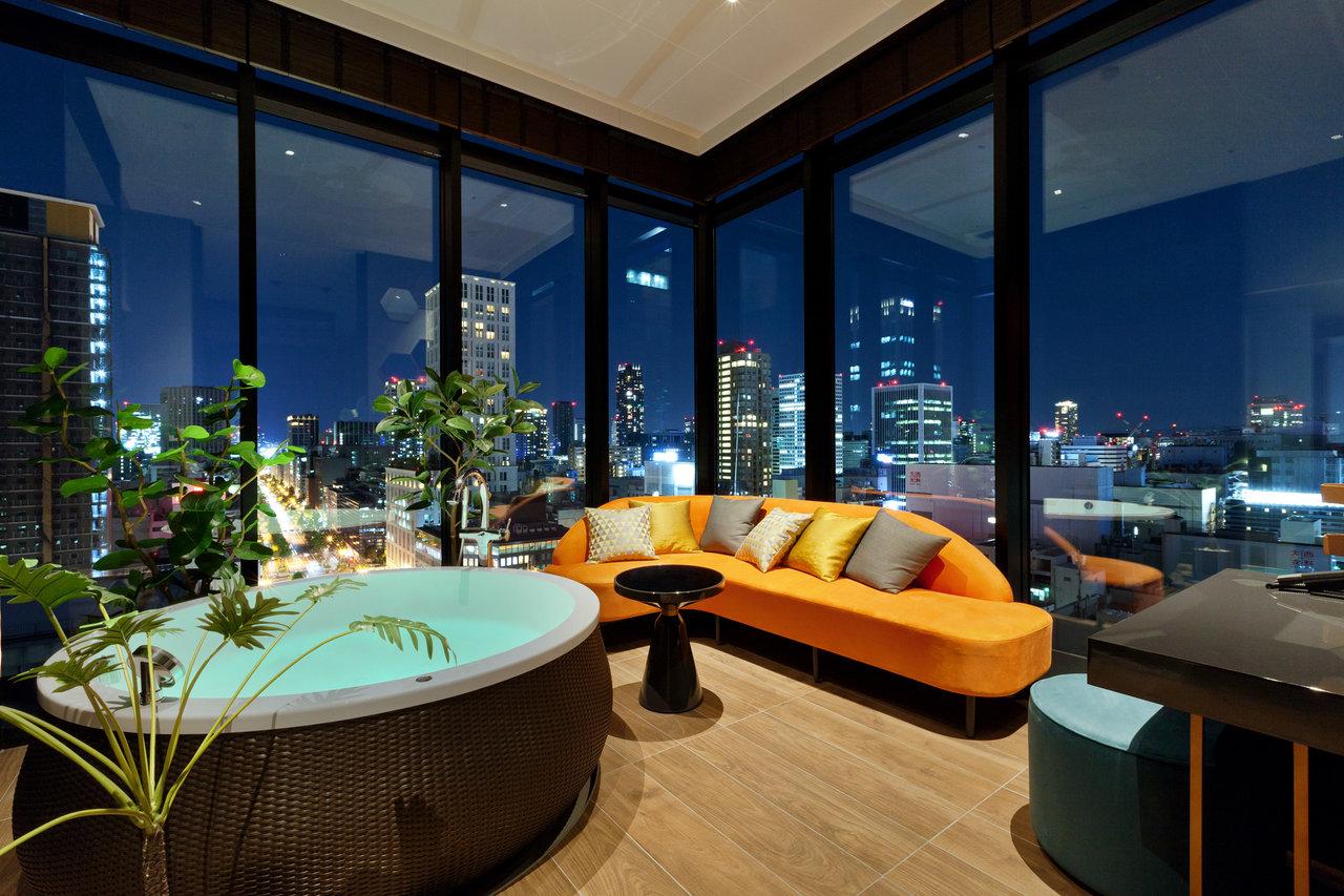 오사카 엑셀 호텔 도큐