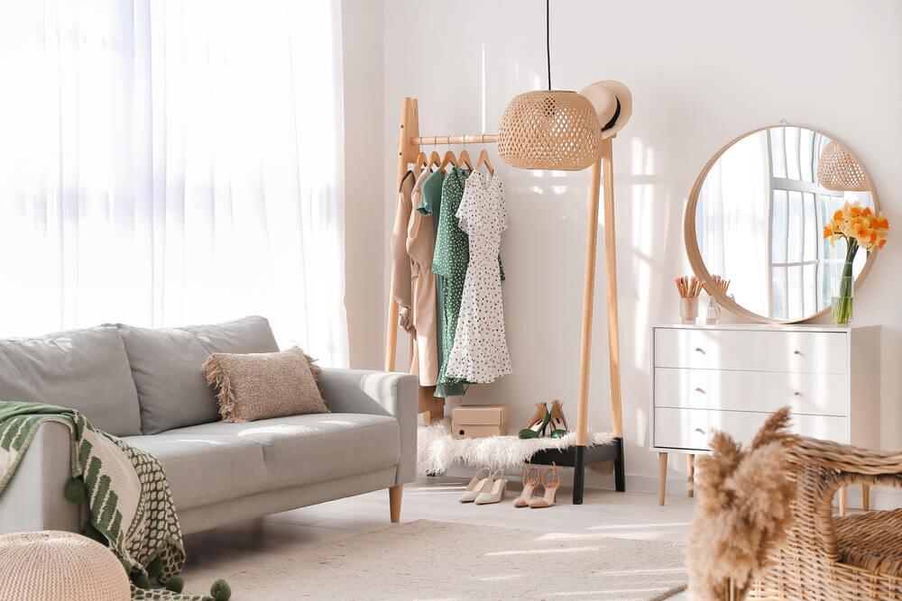 一人暮らしにおすすめのワンルームレイアウト!ファッションアイテムの収納方法も