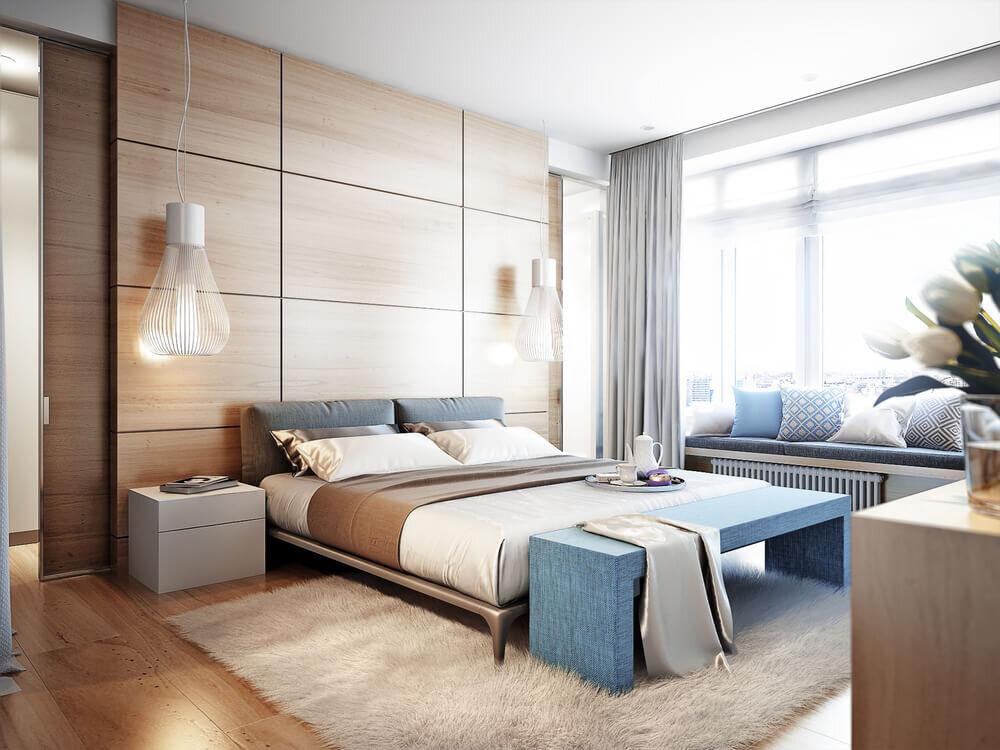 寝室のおしゃれなインテリア実例集!ナチュラルな配色や家具配置などのコツも解説