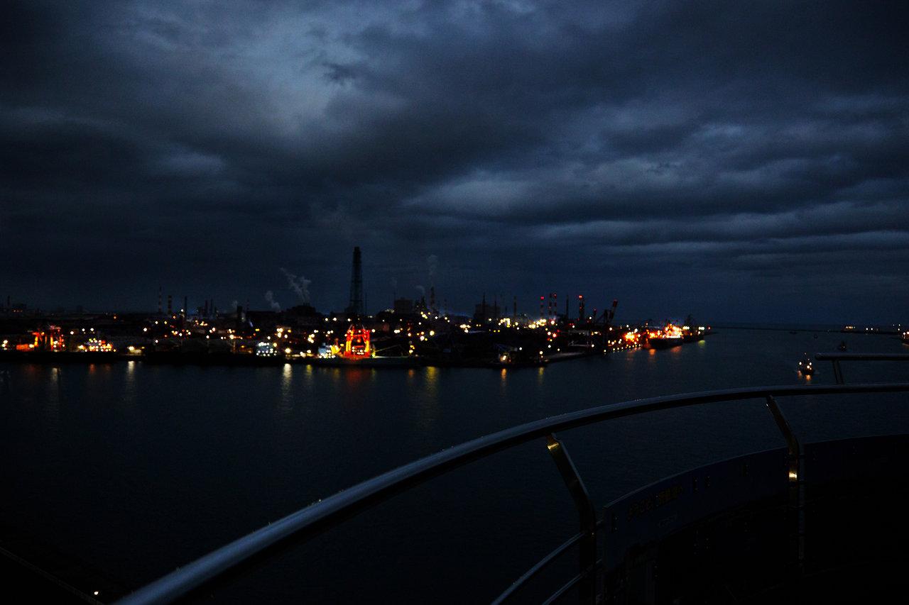 鹿島工場 夜景スポット