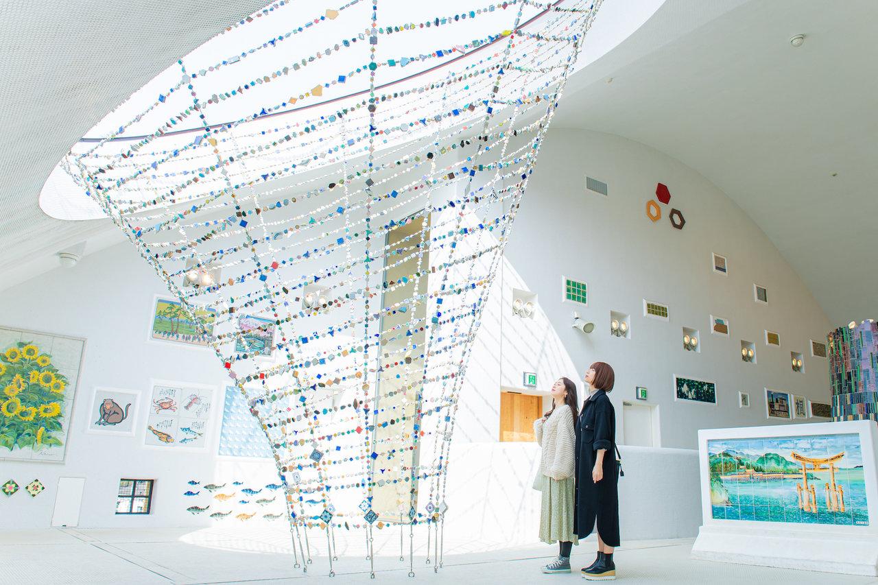 土岐プレミアム・アウトレットの周辺を巡る。 多治見市モザイクタイルミュージアム