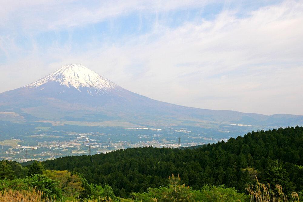 富士山の見える景色