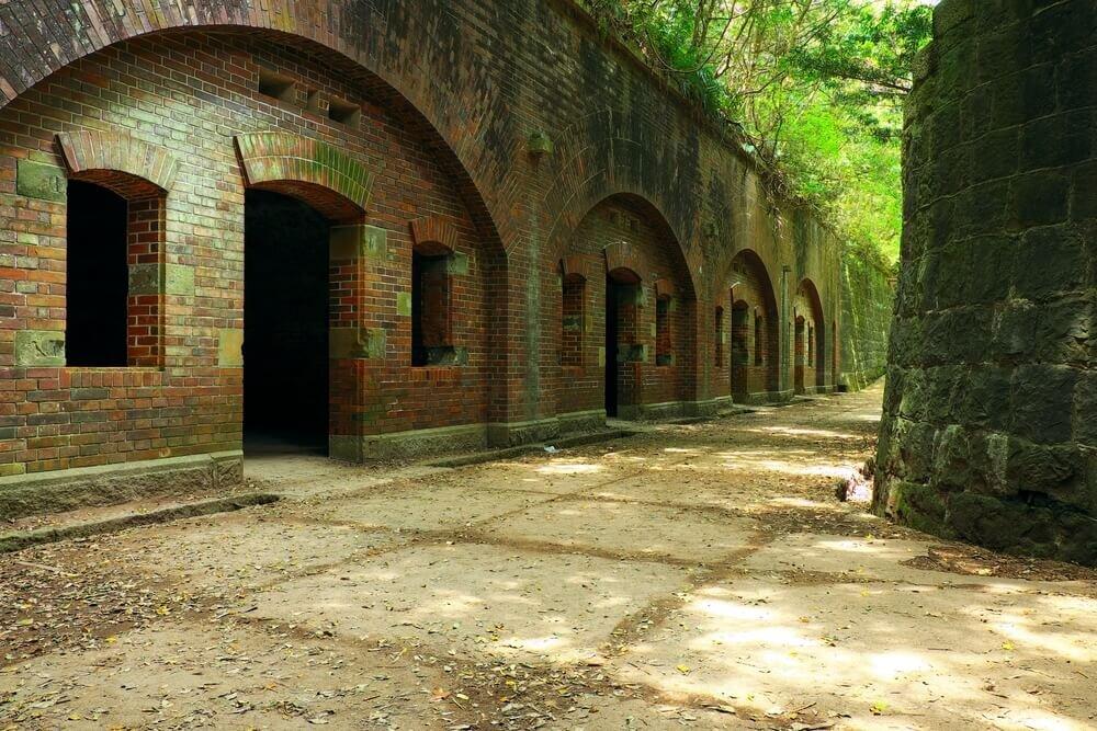友ヶ島の要塞跡