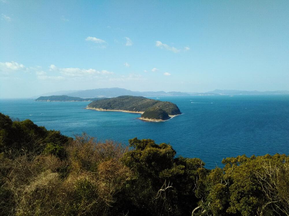 和歌山の加田友ヶ島