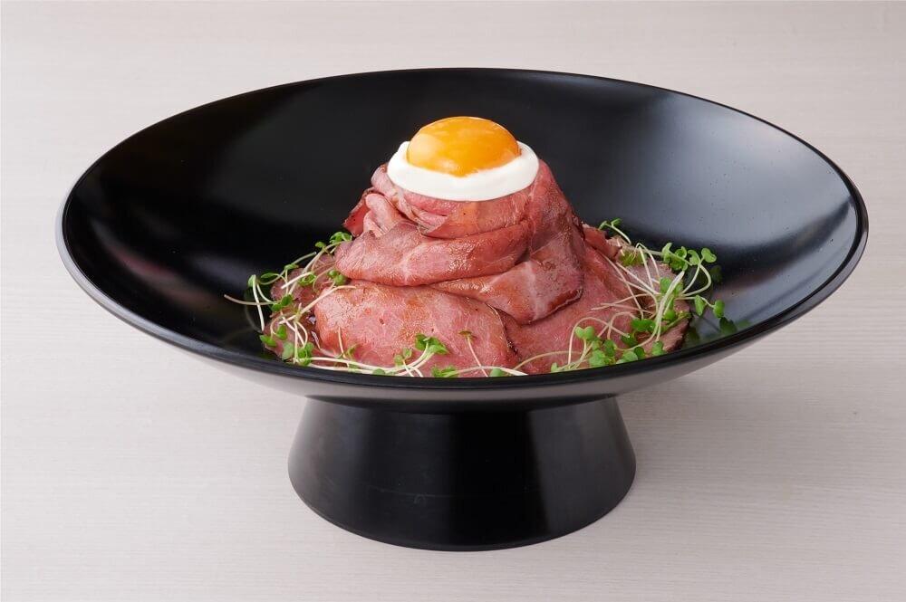 富士山名物プレミアムローストビーフ丼