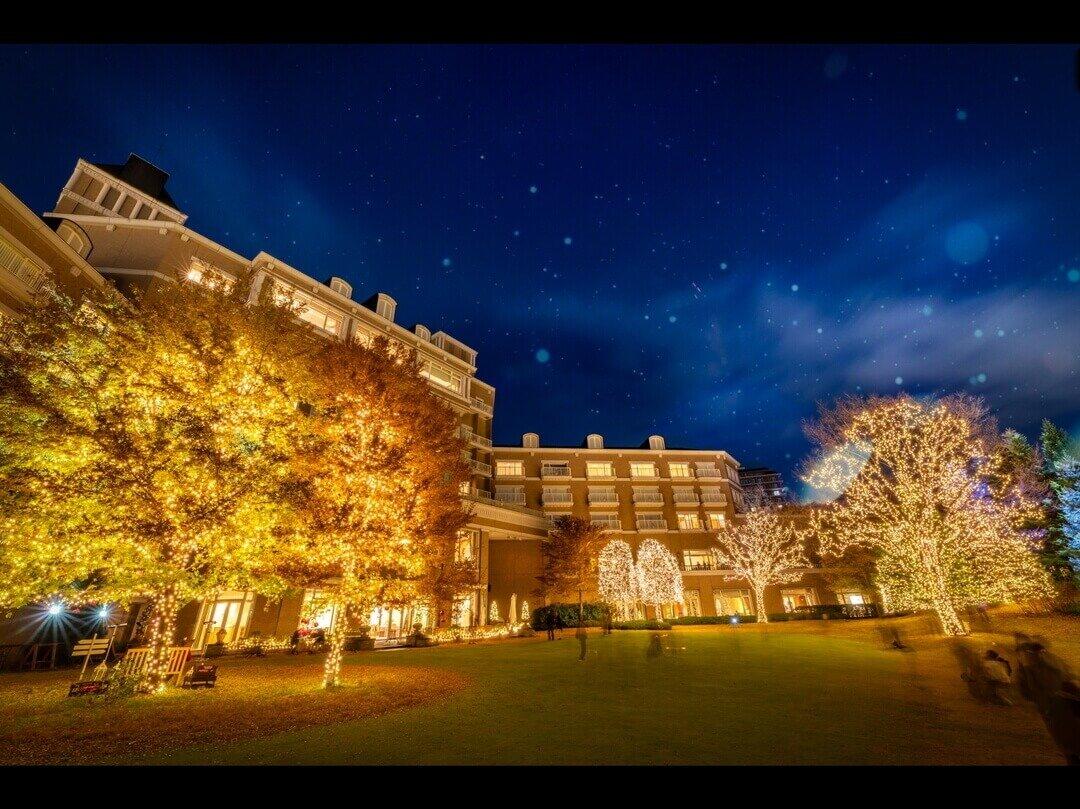 仙台ロイヤルパークホテルの夜景