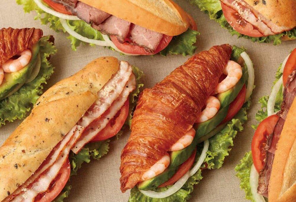 デリフランスのサンドイッチ