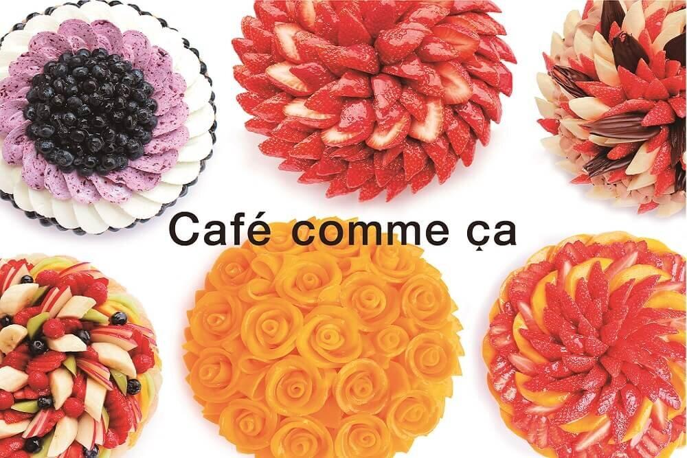 カフェコムサのケーキ達
