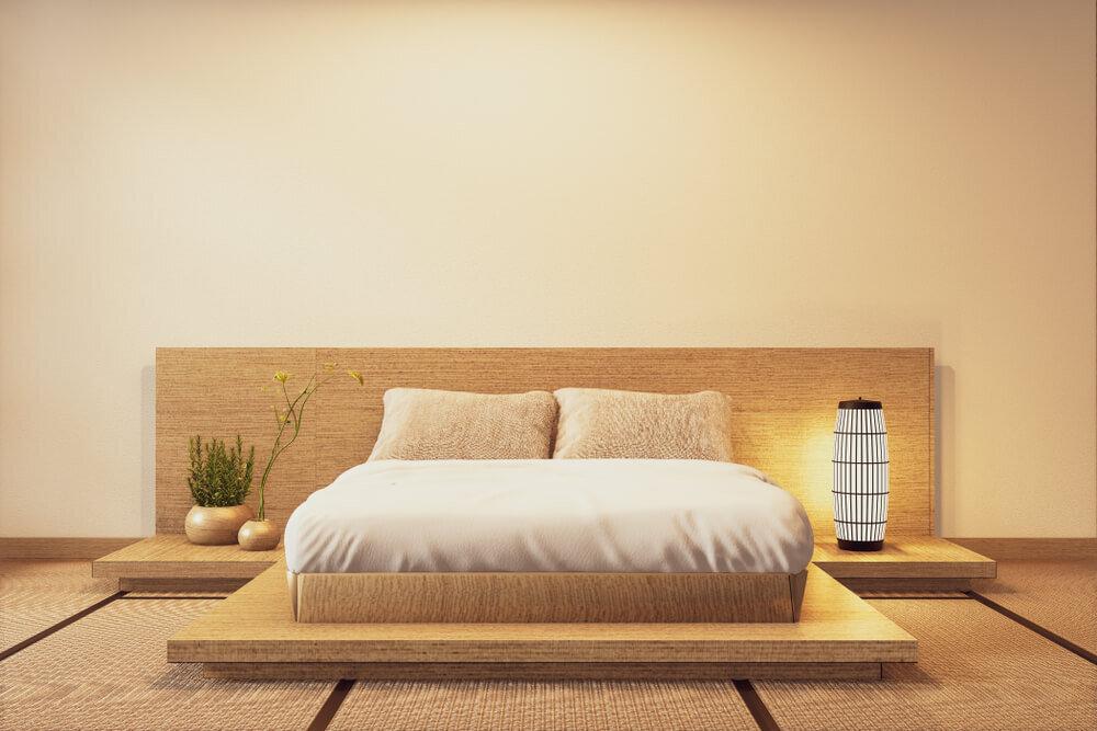 和スタイルの寝室