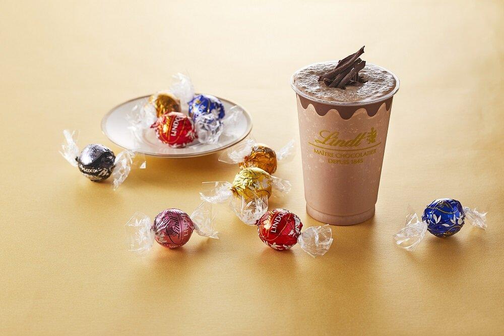 リンツ ショコラ カフェのチョコレートドリンク