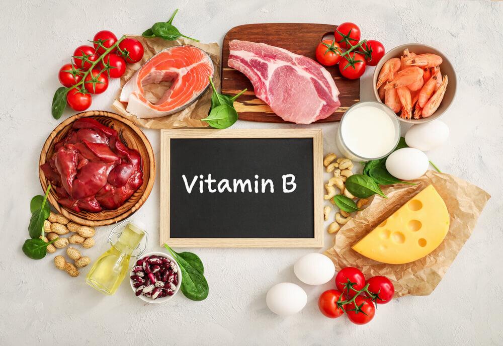 ビタミンB群が含まれた食材