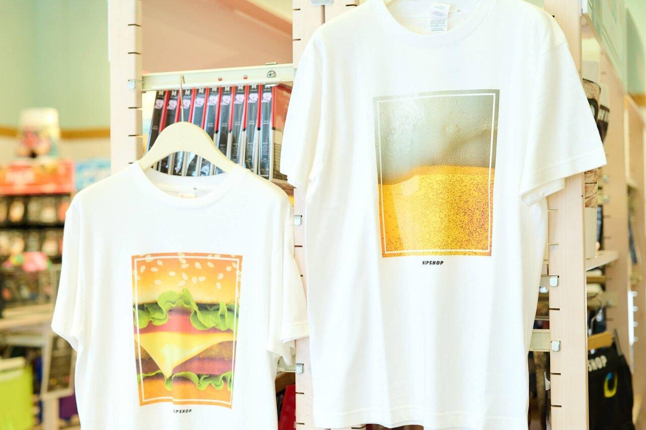 ヒップショップのTシャツ