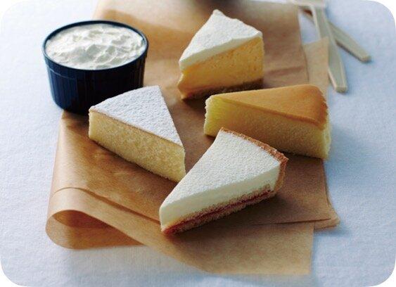 Cheese Gardenのチーズケーキアソート