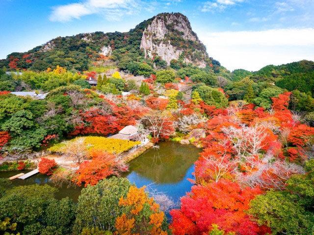 御船山楽園 (国登録記念物)の紅葉|紅葉情報