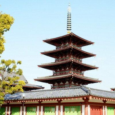 和宗総本山 四天王寺 - 日本仏法最初の官寺