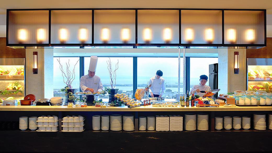 スカイグリルブッフェ GOCOCU ~五国のめぐみ~ | レストラン | 神戸ポートピアホテル