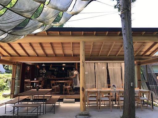 """茶屋雨巻 - 益子町の石窯ナポリピザ店(ナビは""""大川戸ドライブイン""""で)"""