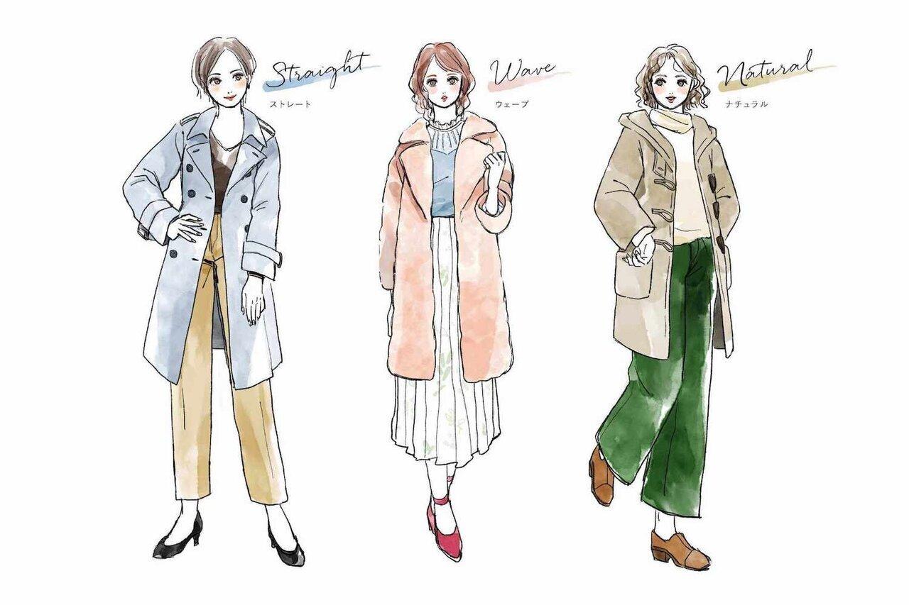 【骨格診断】で失敗知らずのコート選びを! 体のラインを知って運命の一着をプレミアム・アウトレットで見つけよう - PREMIUM OUTLETS TIMES