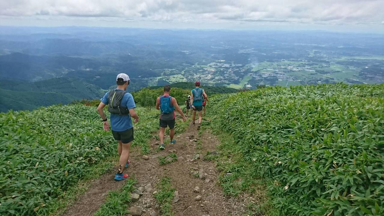 【コース情報】Nagi Peaksでお馴染み、天空感満載の稜線、岡山県那岐山(Basic編)