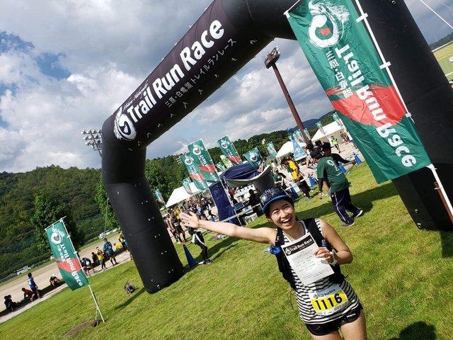 【大会レポート】アラサー女子「ひだか」が2019三原白竜湖トレイルランレースを走ってきました!