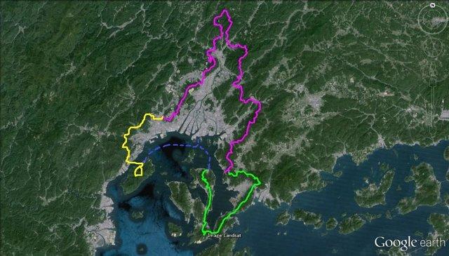 江田島から宮島をつなぐ壮大なルート