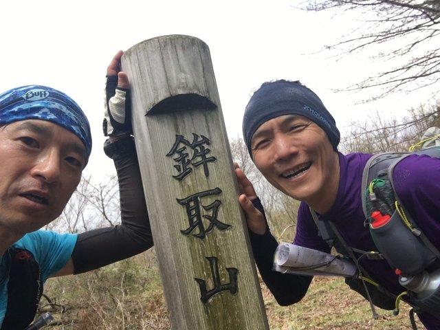 (左が筆者。右は岡山の変態ランナーWH君。これいつの写...