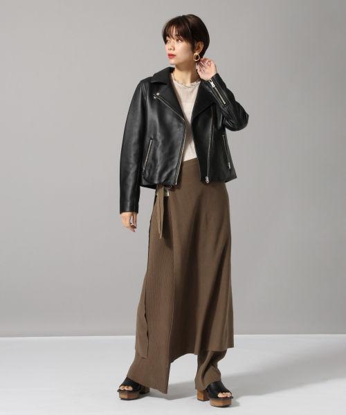 ライダースジャケットの着こなし方とは?インナーやパンツとのコーデを紹介