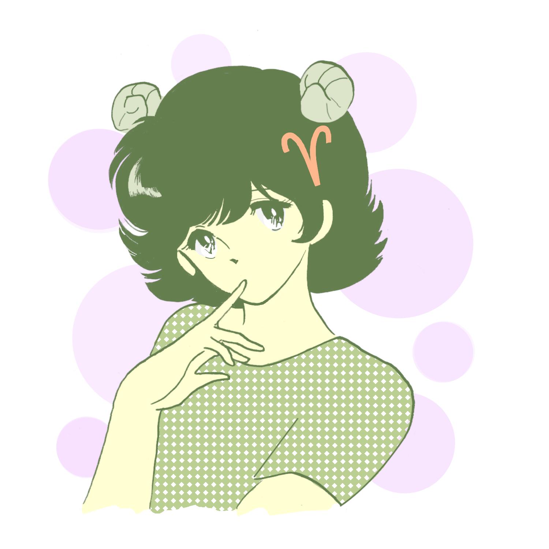 2020.2 牡羊座 (おひつじ座)