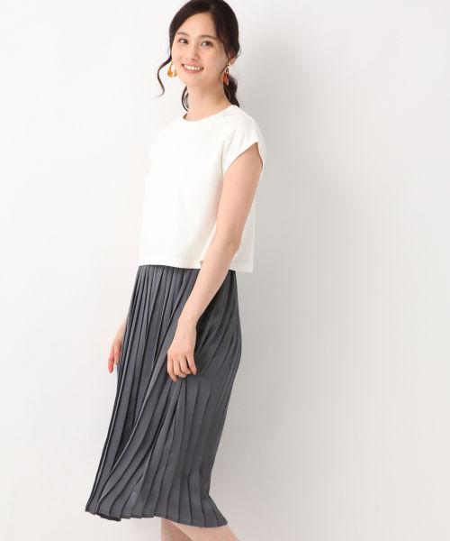 旅コーデ 夏 スカート