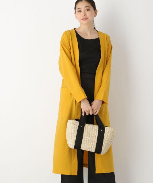 コート 黄色