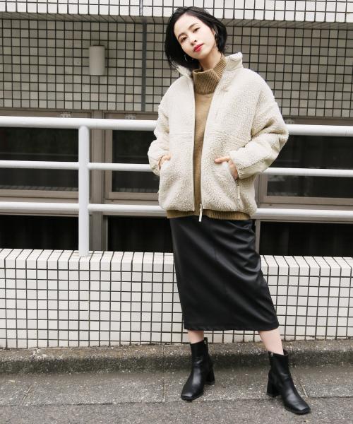 スタイル美人になれる!黒タイトスカートの冬コーデをマスターしよう