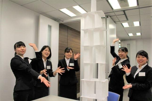 1番高いタワーをつくったチーム