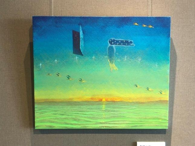 介護施設を芸術作品で彩るアートギャラリーホーム。高齢者の方と若手アーティストの感性を育む