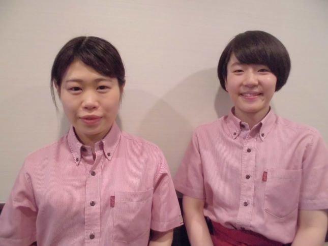 インタビューさせていただいた谷村さん(写真左)と、谷村さんのメンターである、河野(こうの)さん(写真右)