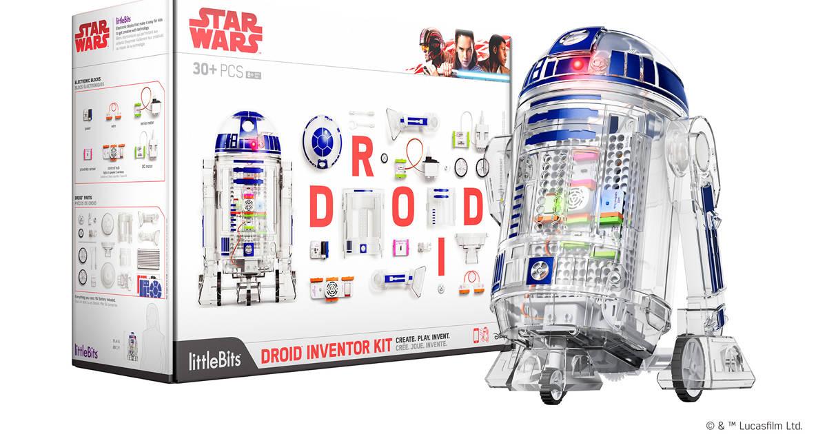 R2-D2が作れる!そして動く!リトルビッツで親子の電子工作を楽しもう