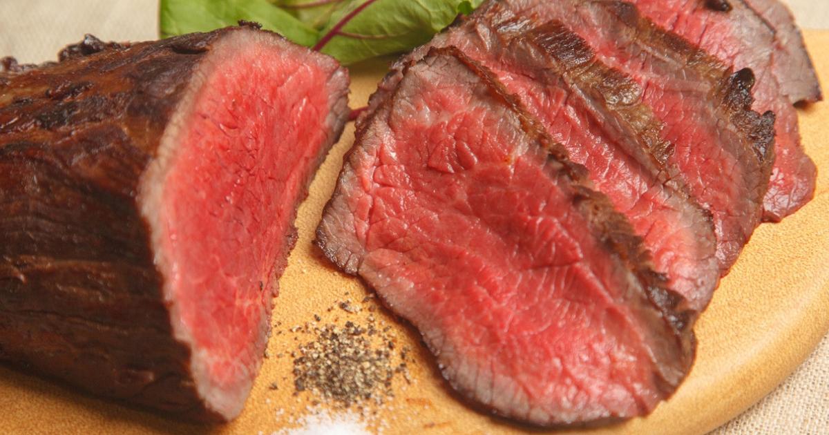 ほぼ牛一頭まるごと食べつくしクッキング「塊肉、どうしよう! 塊肉、こうしよう!」~男の憧れ、ローストビーフ~