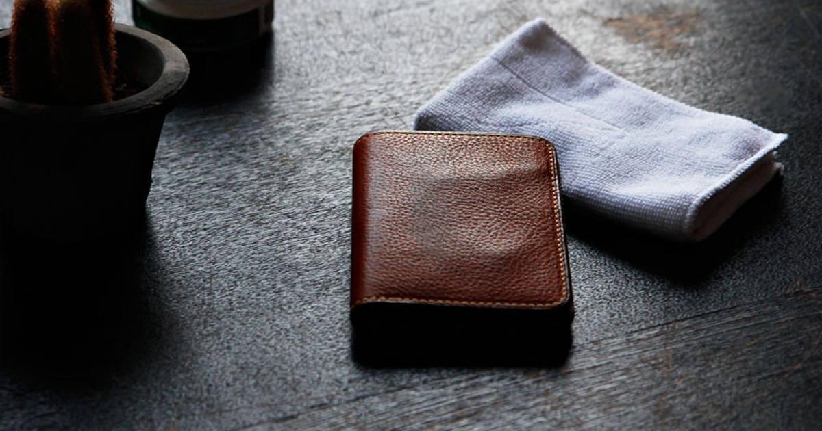 毎日使うからこそメンテナンスは欠かせない!革財布のお手入れ術