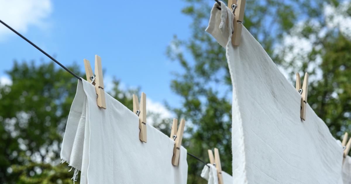花粉症対策は洗濯から!花粉をキレイに洗濯で洗い流すコツ