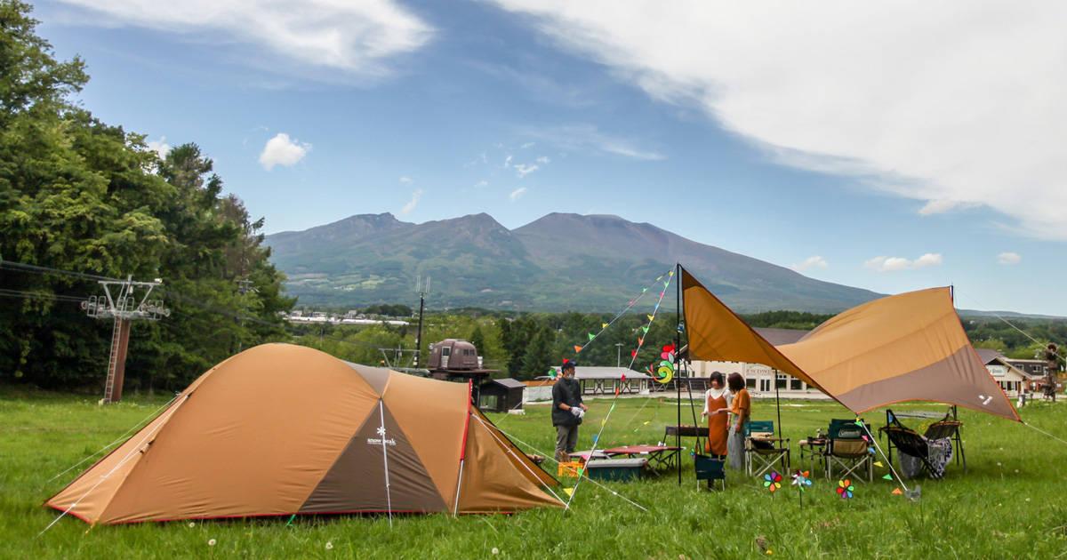 初心者も気軽に楽しめる!ファミリー目線のキャンプ場「パラダキャンプ場」がオープン
