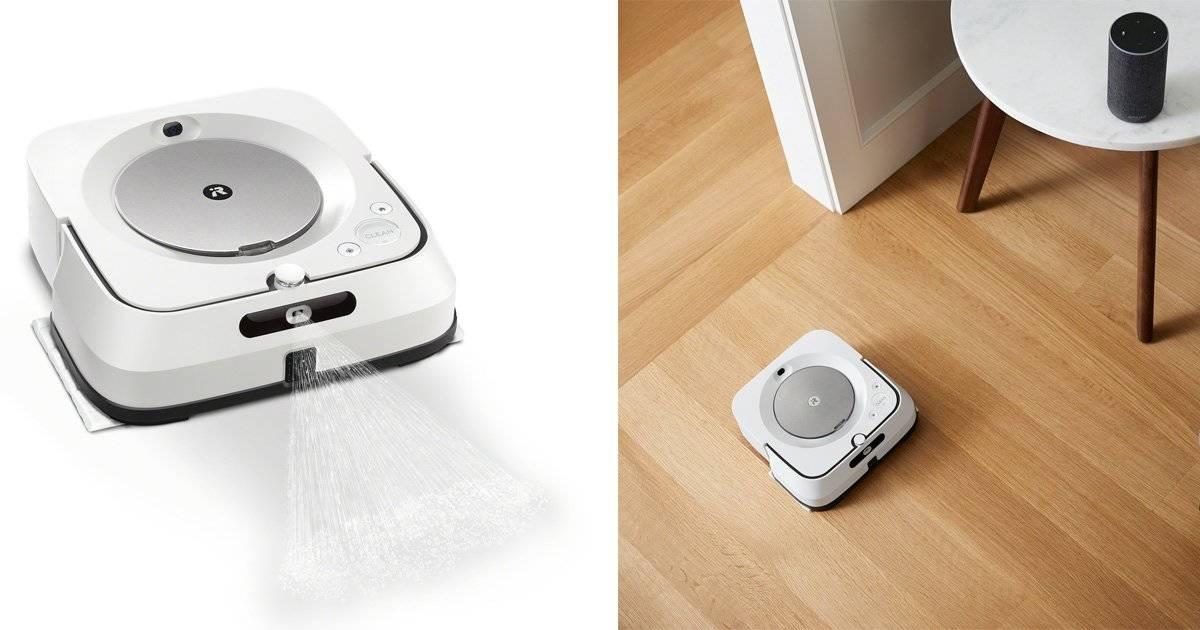 拭き掃除もロボットに自動でお任せ!進化した床拭きロボット「ブラーバ ジェット®m6」