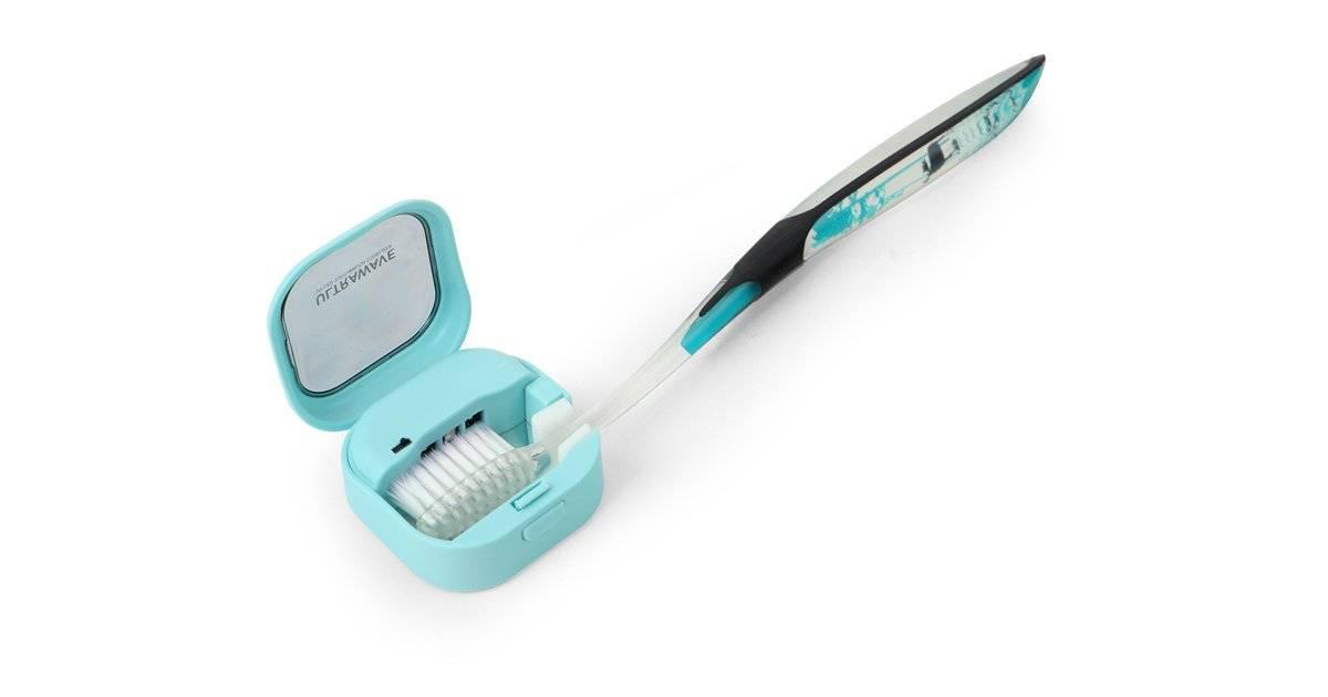 便器より汚い歯ブラシを3分で99.9%除菌!新発想で誕生した歯ブラシ除菌キャップ『ULTRAWAVE MDK-TS03』