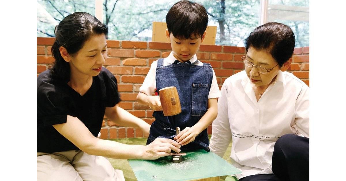 """敬老の日は親子3世代でものづくり体験!""""ものを大切にする心""""を育む「まいにちWORKSHOP」"""