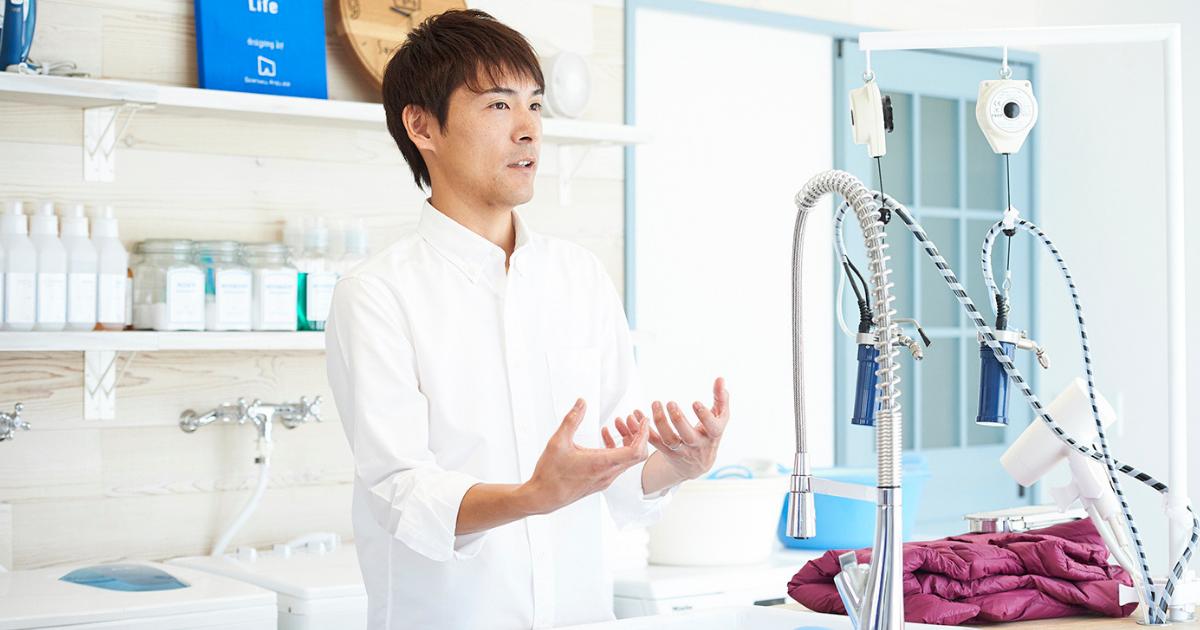 【動画で解説】シーズン中にもっと洗濯を!洗濯家・中村祐一さんの「冬服の手洗い方法レッスン」