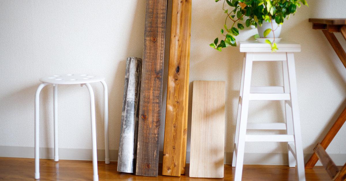 【初心者必見】DIYに使う木材の種類を解説!(SPF材、杉材、集成材、合板)
