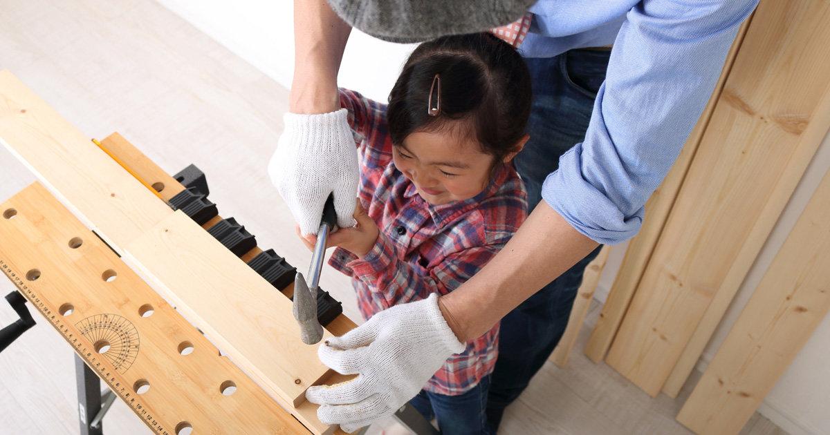 木のおもちゃで「作る」と「遊ぶ」を体験!子どもと楽しむDIY