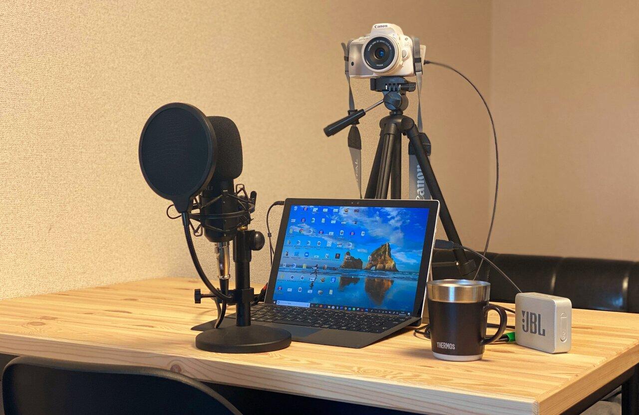仕事ができそうに見えるかも。一眼レフやiPhoneを使って高画質・高音質のテレビ会議を実現する方法