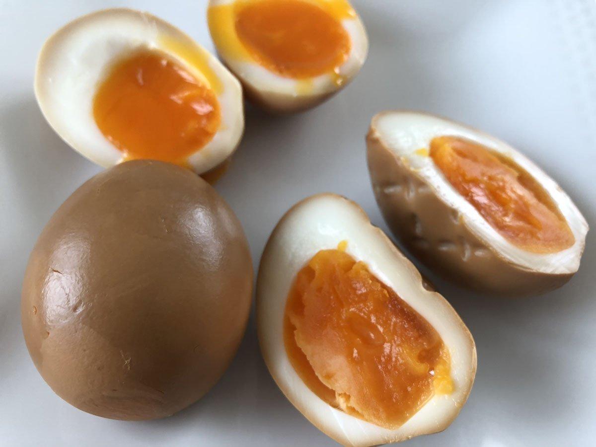 くんたま,燻製卵,燻製,家men