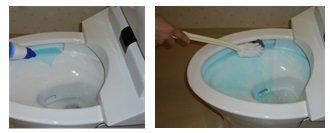 トイレ掃除,尿ハネ汚れ